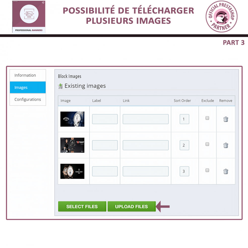 module - Sliders & Galeries - bannière réactif et Curseur d'image - 7