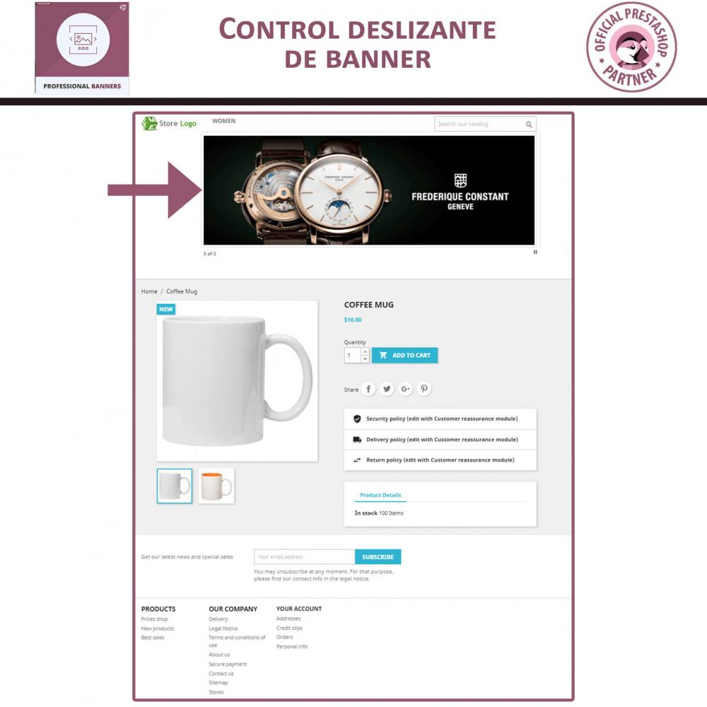 module - Sliders y Galerías de imágenes - Banners Profesionales, Control Deslizante Responsivo - 2