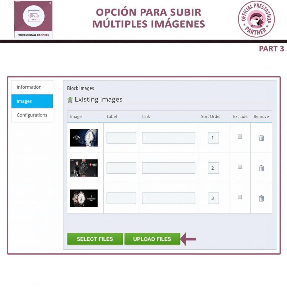 module - Sliders y Galerías de imágenes - Banners Profesionales, Control Deslizante Responsivo - 7
