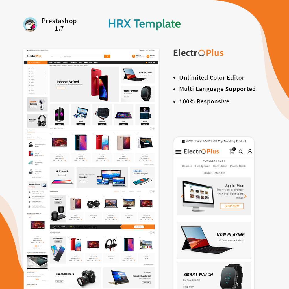 theme - Электроника и компьютеры - Mega Mall Electro Plus – Electronices Shop - 1