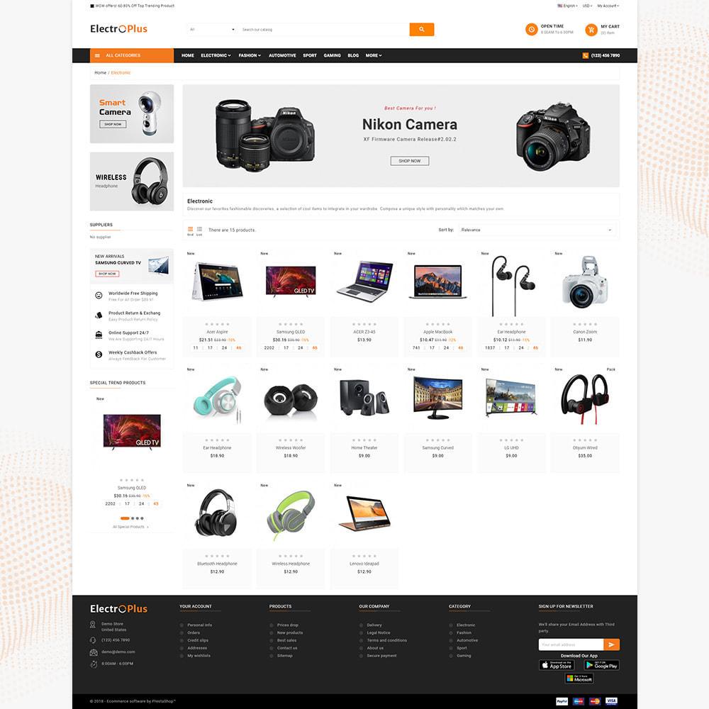 theme - Электроника и компьютеры - Mega Mall Electro Plus – Electronices Shop - 3