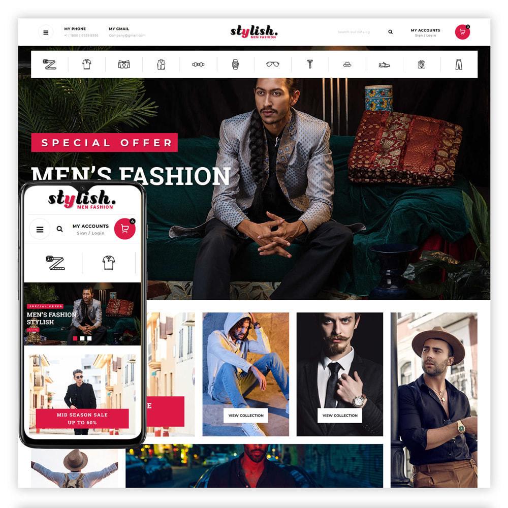theme - Moda & Calzature - Stylish - Mens Fashion Store - 1
