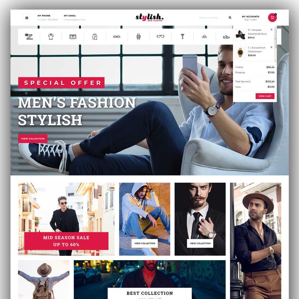 theme - Moda & Calzature - Stylish - Mens Fashion Store - 3