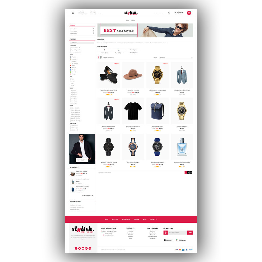 theme - Moda & Calzature - Stylish - Mens Fashion Store - 4