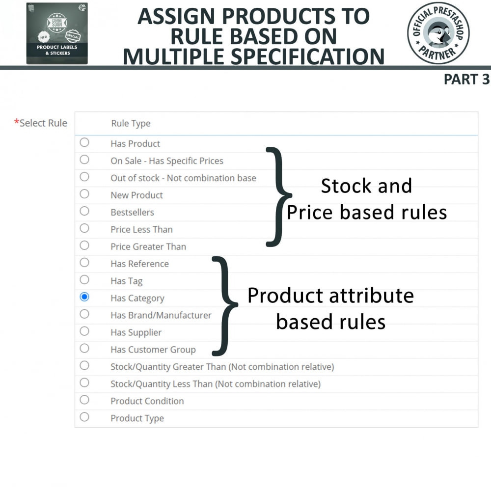 module - Badges & Logos - Product Labels and Stickers - 16