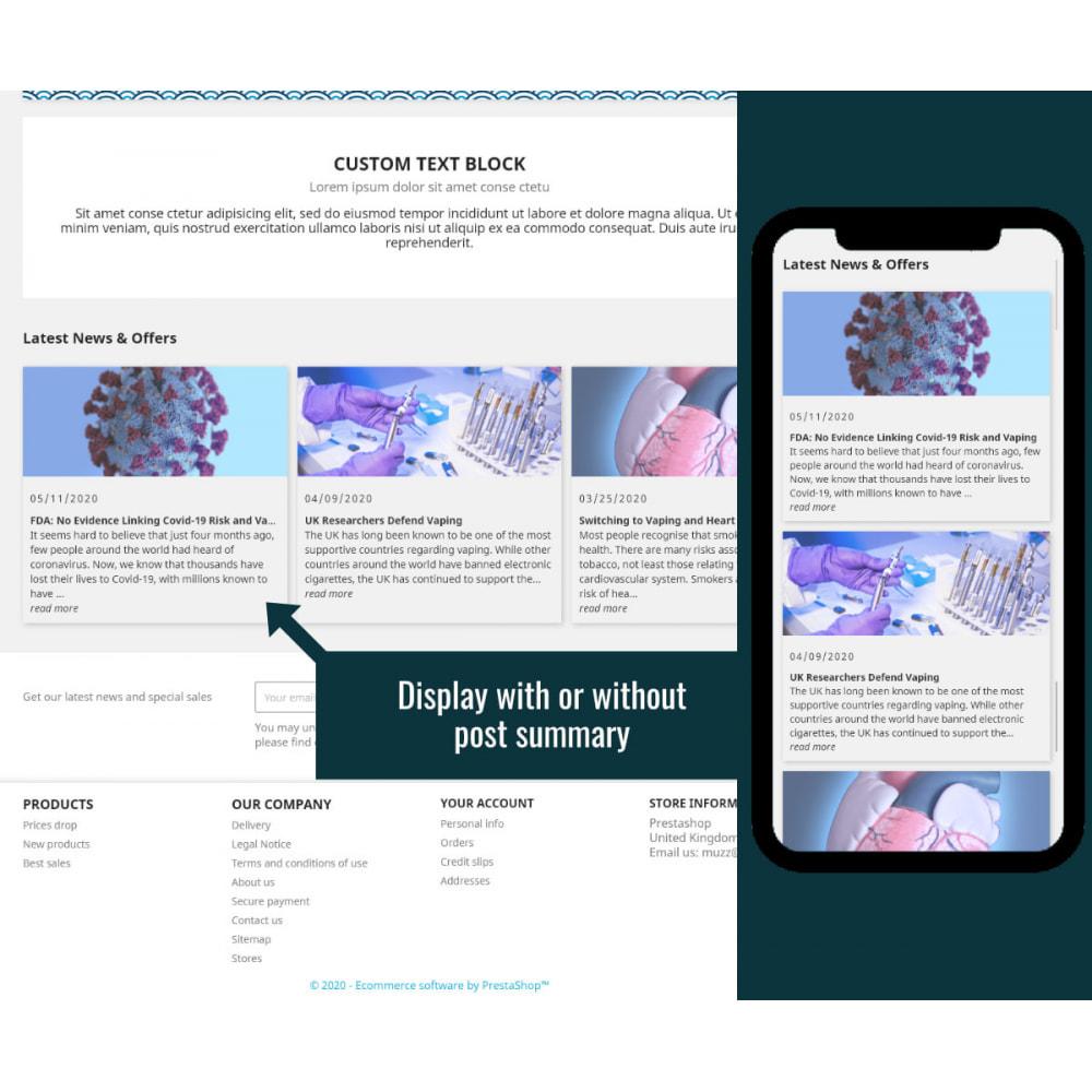 module - Blog, Foro y Noticias - Wordpress Blog Posts - 2