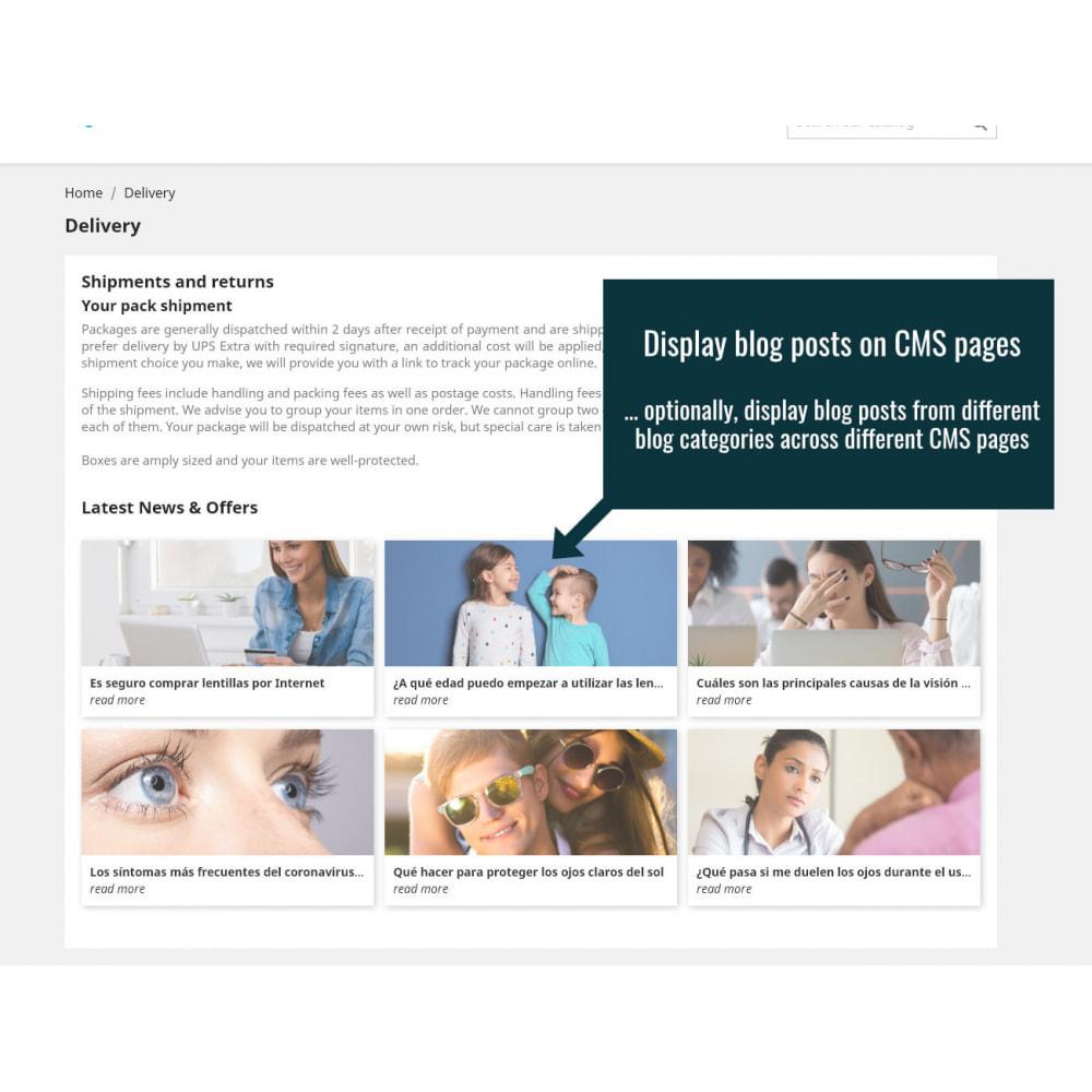 module - Blog, Foro y Noticias - Wordpress Blog Posts - 4