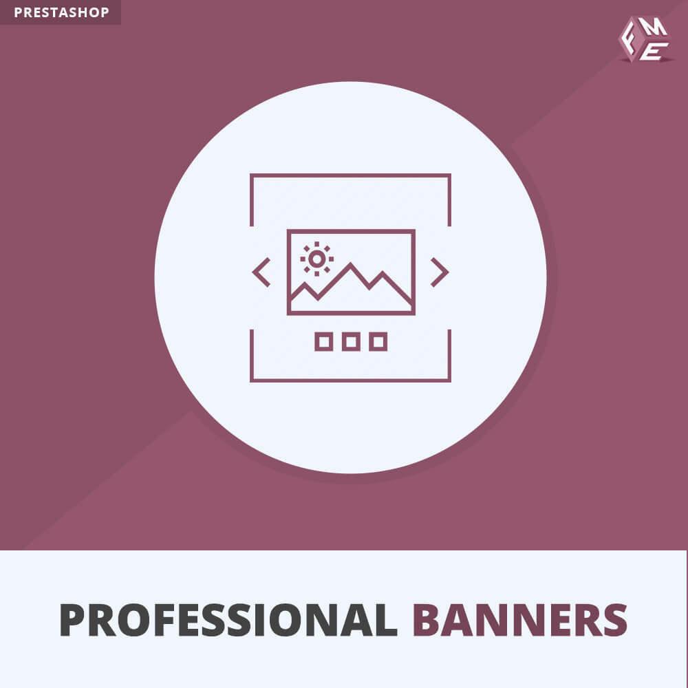module - Gallerijen & Sliders - Professionele banner - Responsieve bannerschuifregelaar - 1