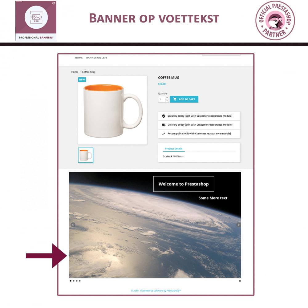 module - Gallerijen & Sliders - Professionele banner - Responsieve bannerschuifregelaar - 4