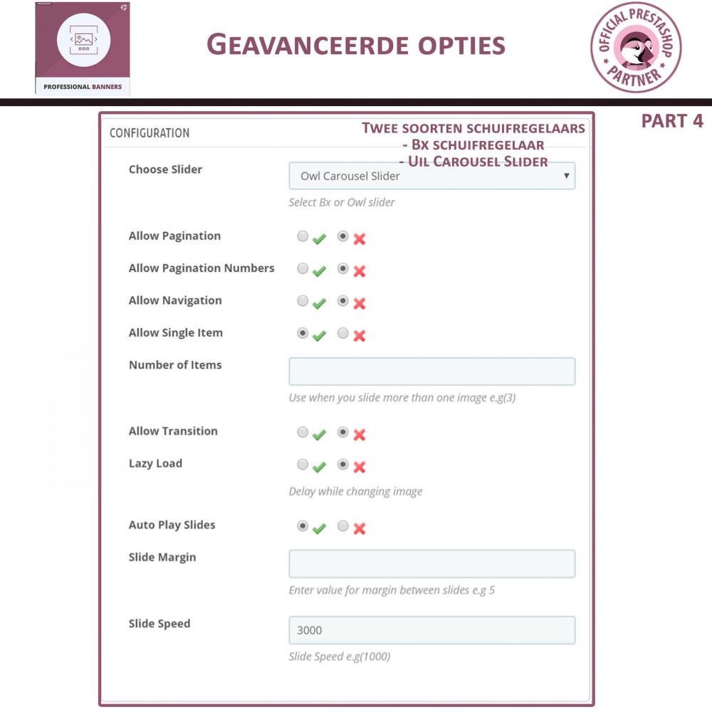 module - Gallerijen & Sliders - Professionele banner - Responsieve bannerschuifregelaar - 8