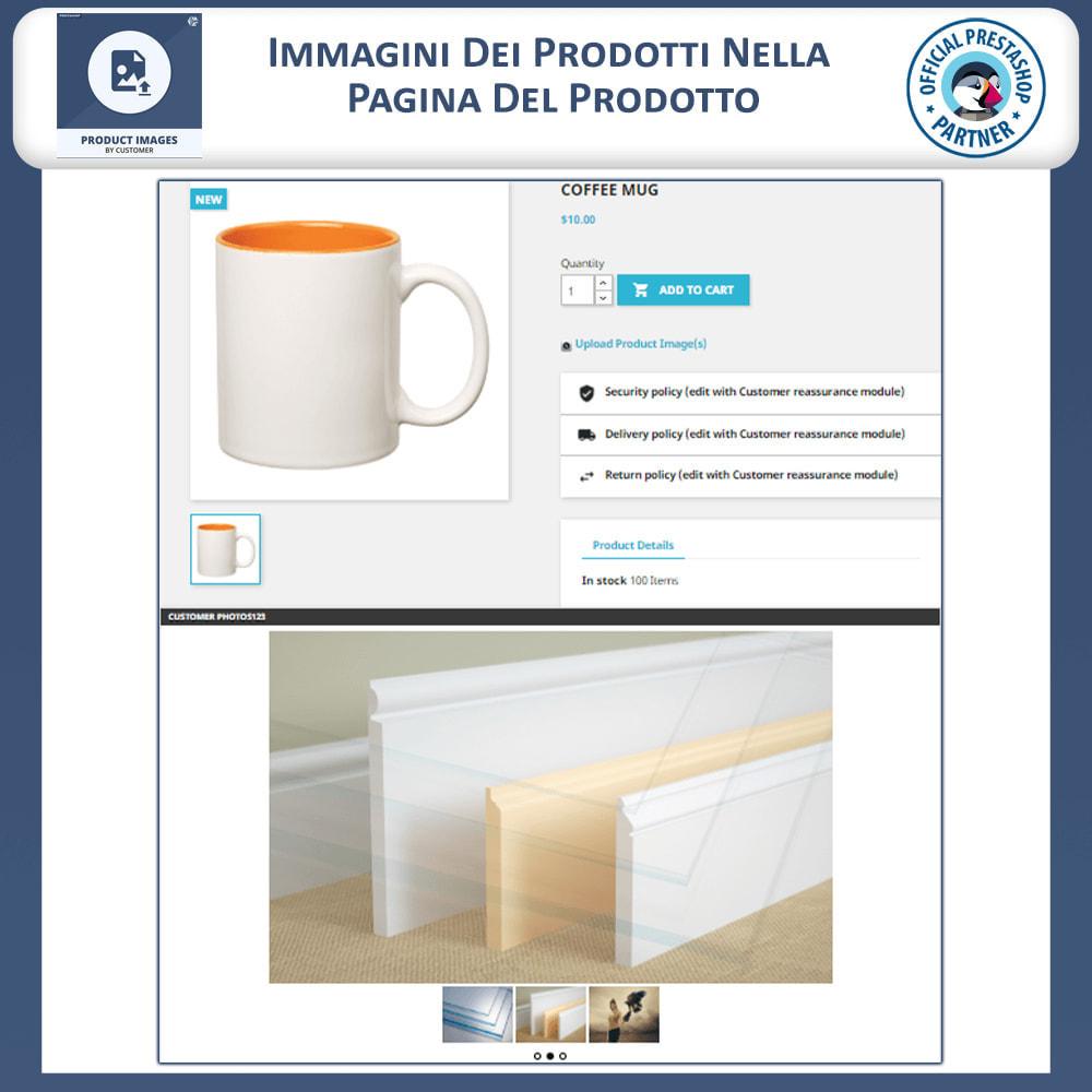 module - Visualizzazione Prodotti - Product Images by Customers - 2