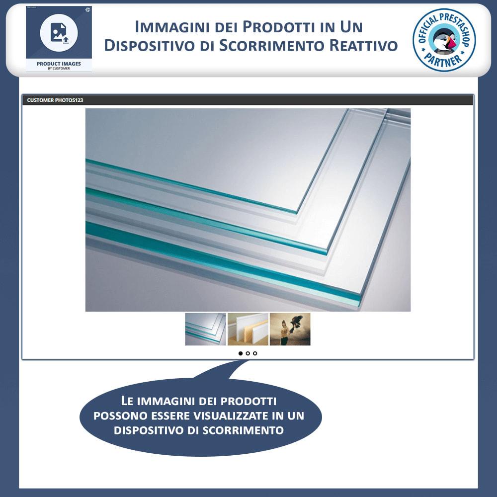 module - Visualizzazione Prodotti - Product Images by Customers - 3