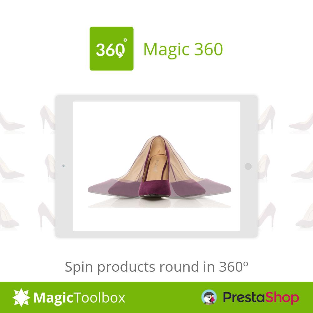 module - Visual dos produtos - Magic 360 spin - 1