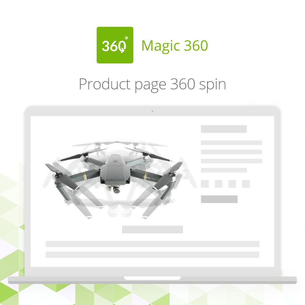 module - Visual dos produtos - Magic 360 spin - 2
