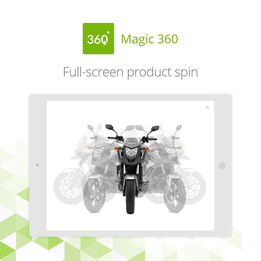 module - Visual dos produtos - Magic 360 spin - 3