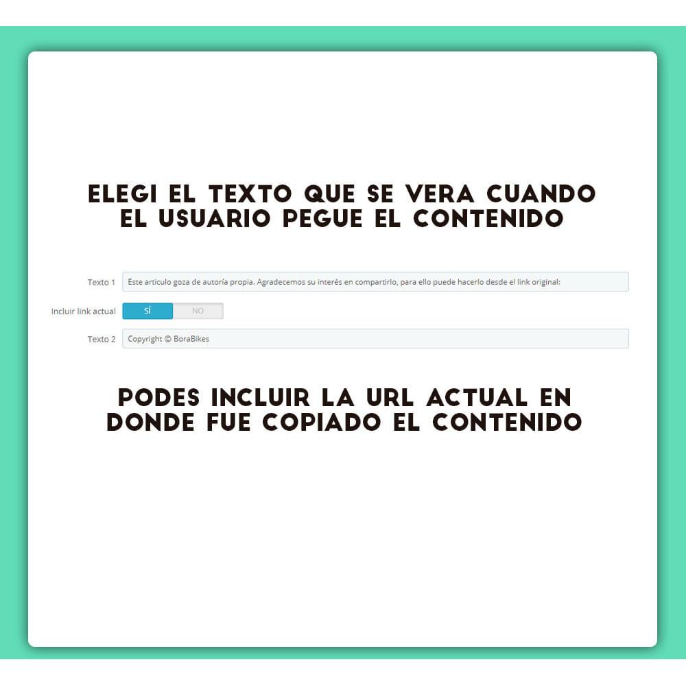 module - Blog, Foro y Noticias - Contenido con Copyright - 4