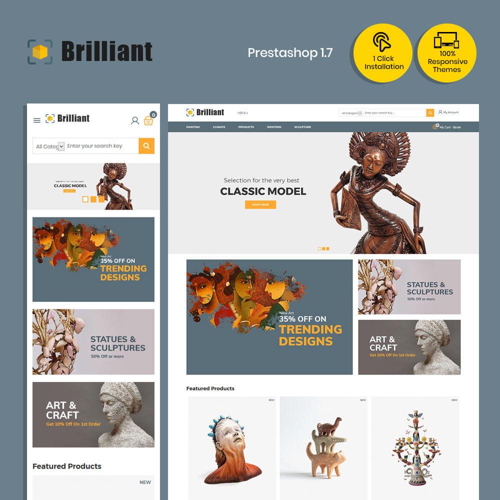 theme - Art & Culture - Collection d'artisanat brillant - Boutique d'art - 2