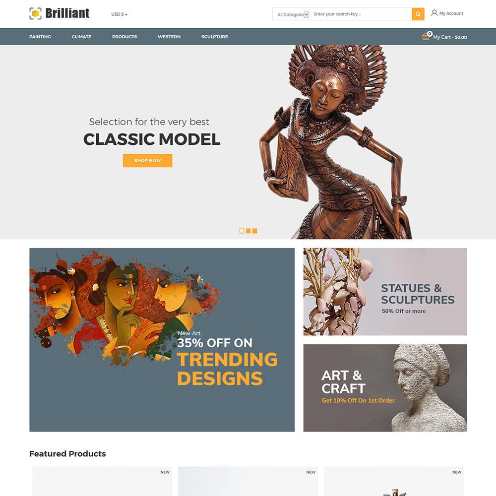 theme - Art & Culture - Collection d'artisanat brillant - Boutique d'art - 3