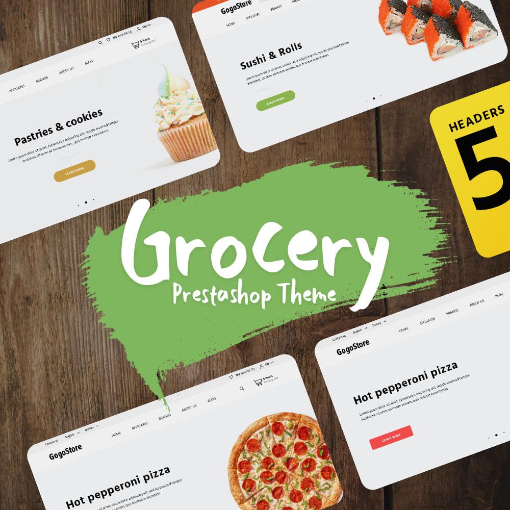 theme - Alimentation & Restauration - Grocery - 2
