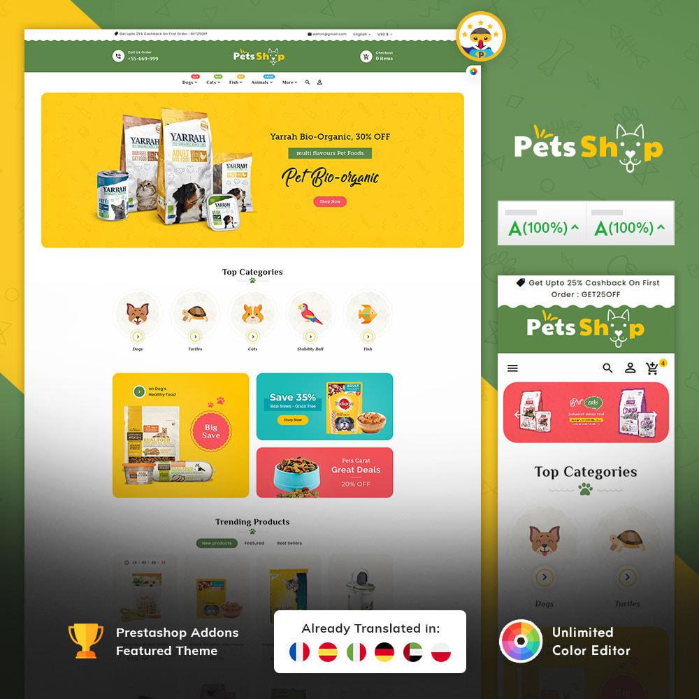 theme - Dieren - Pets Care & Animal Shop - 1