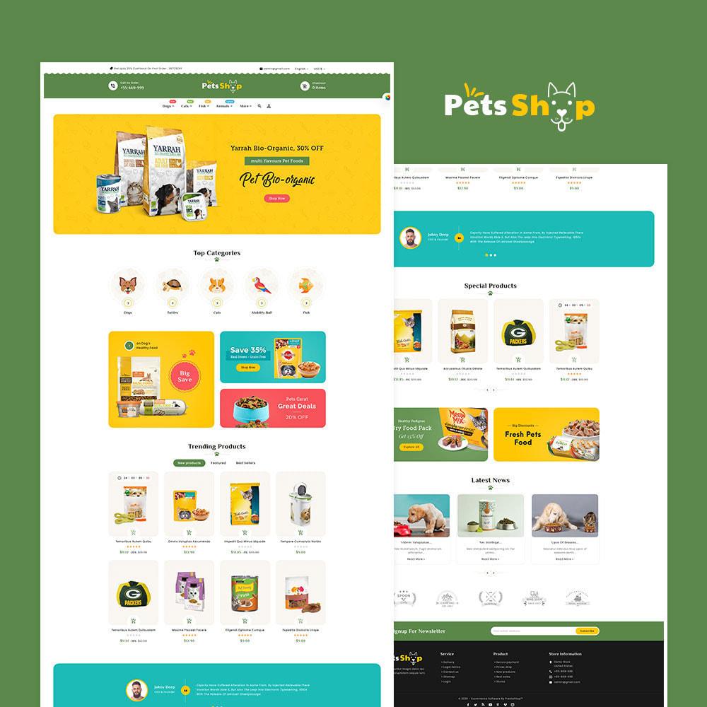 theme - Dieren - Pets Care & Animal Shop - 2