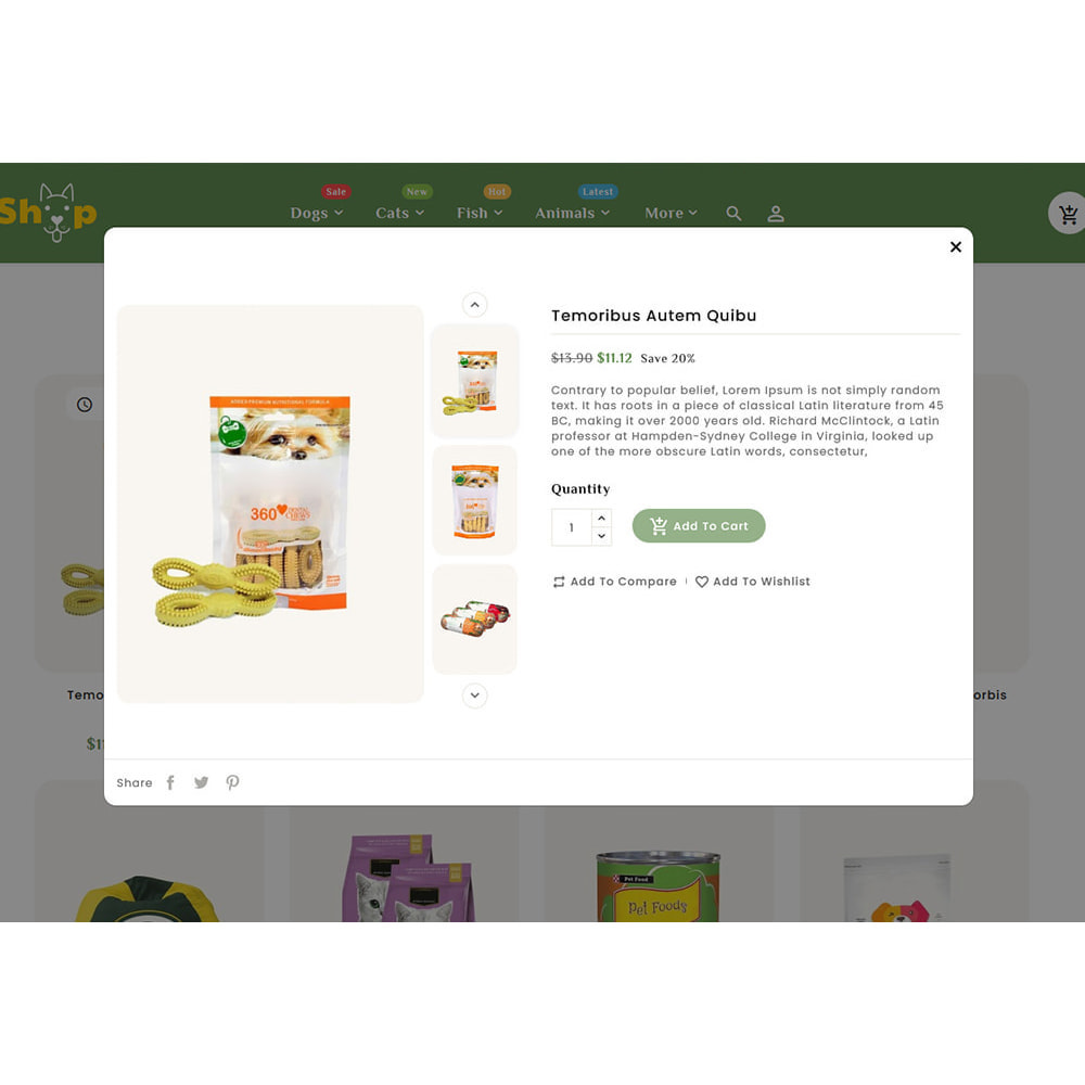 theme - Dieren - Pets Care & Animal Shop - 8