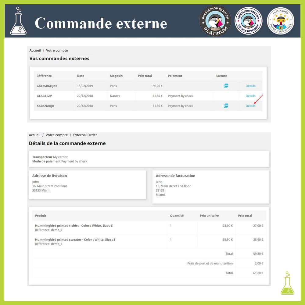 module - Gestion des Commandes - Importer des commandes externes - 13