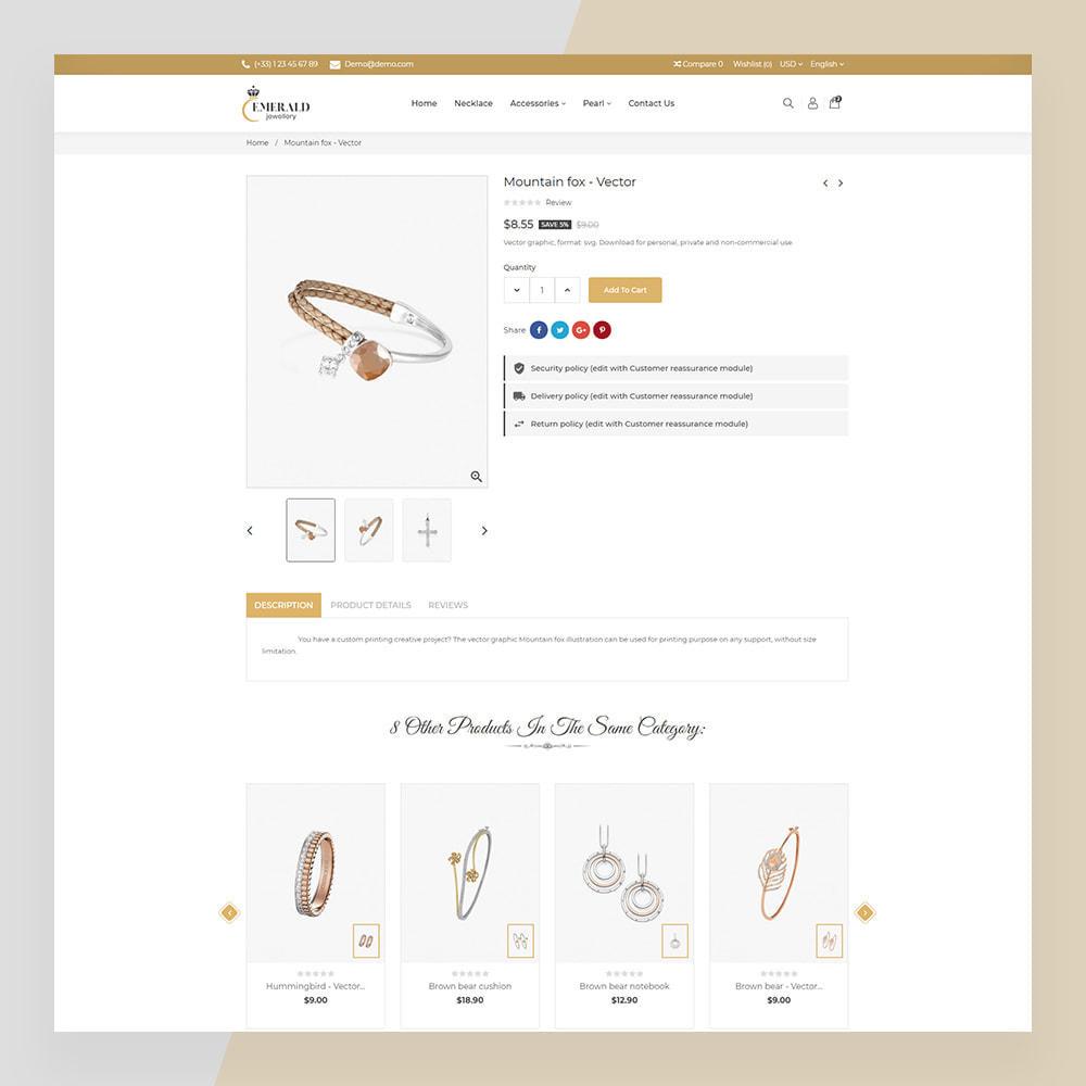 theme - Sieraden & Accessoires - Emerald Jewelry - Jewellery & Accessories Template - 6