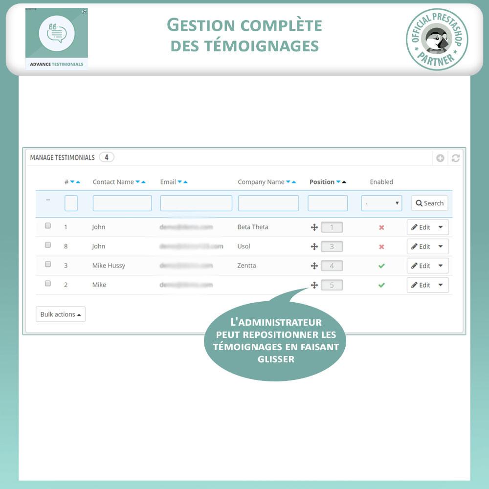 module - Avis clients - Témoignages avancés - Avis Clients avec Photos - 11