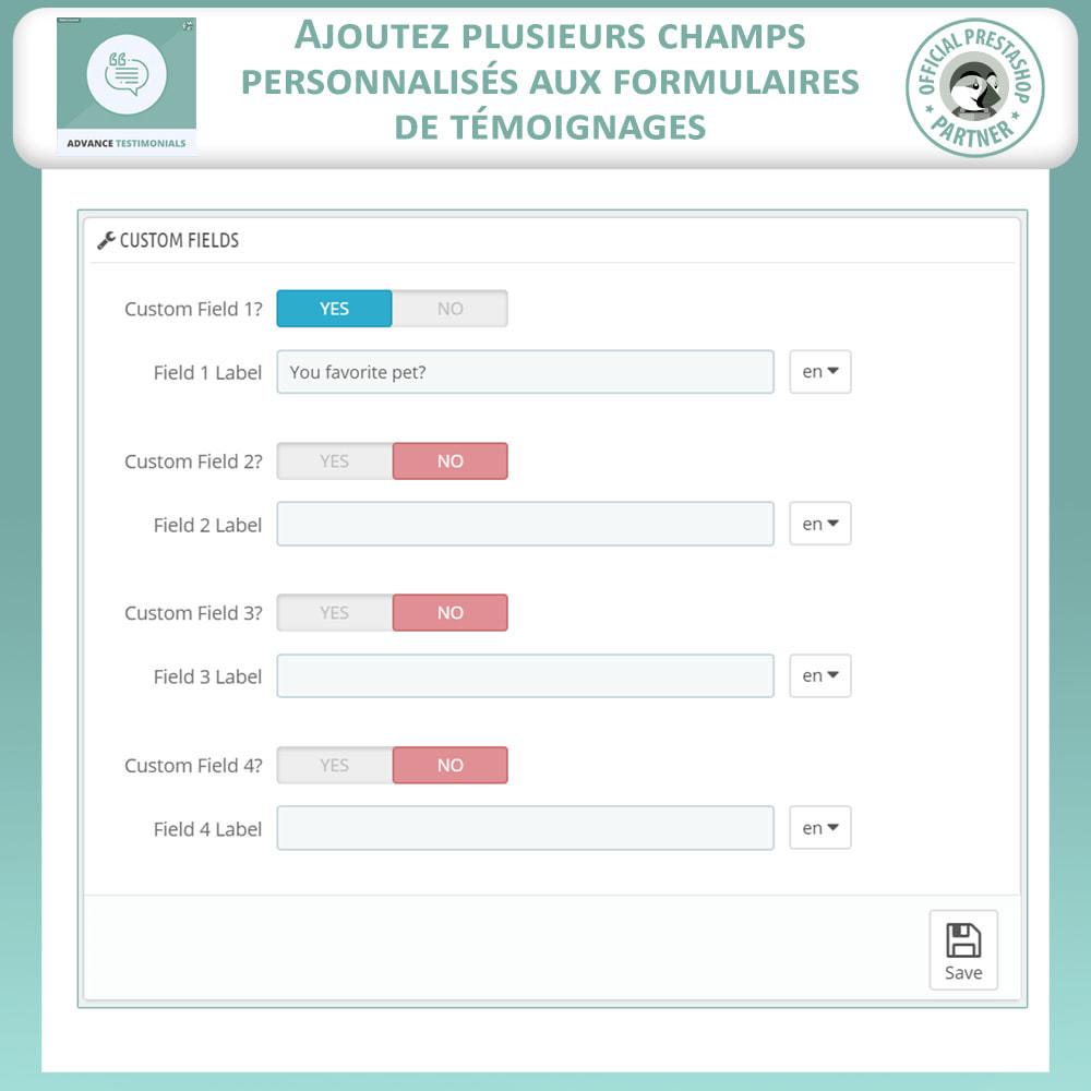 module - Avis clients - Témoignages avancés - Avis Clients avec Photos - 13