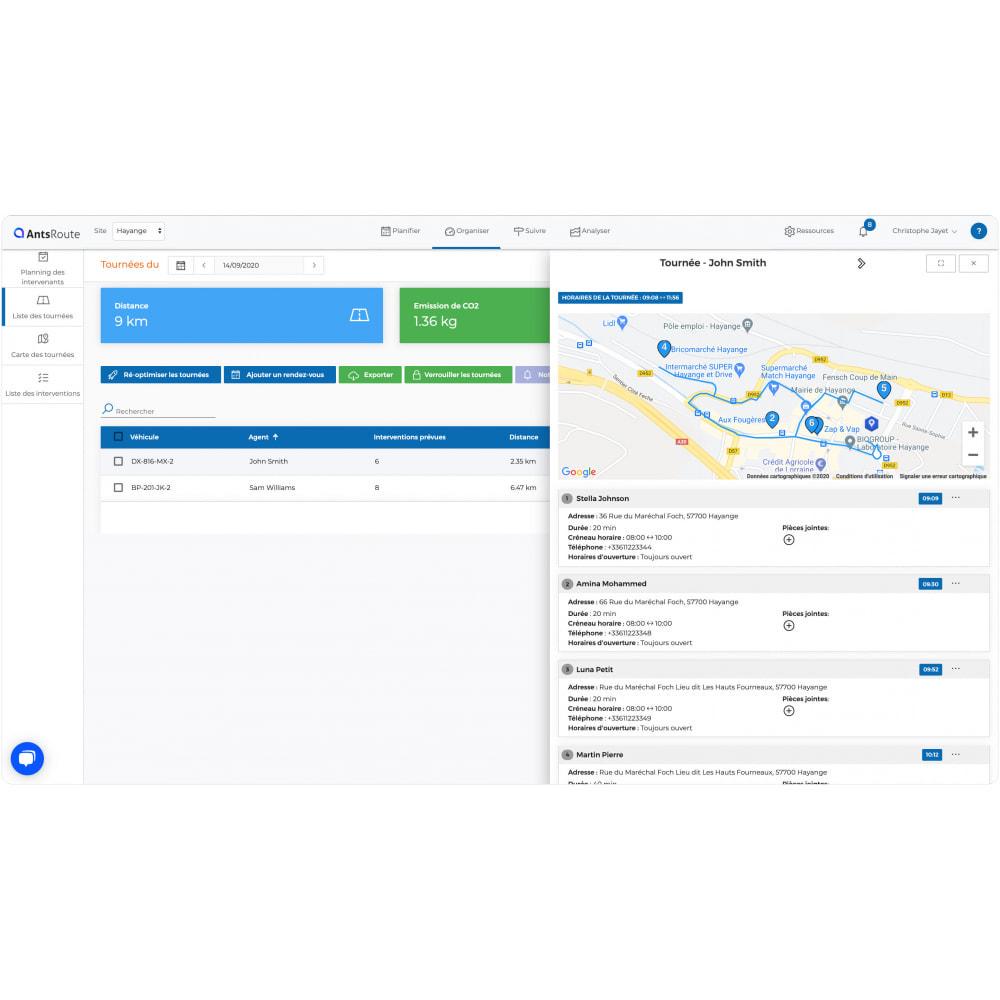 module - Transport & Logistique - AntsRoute - Planification & optimisation des livraisons - 4