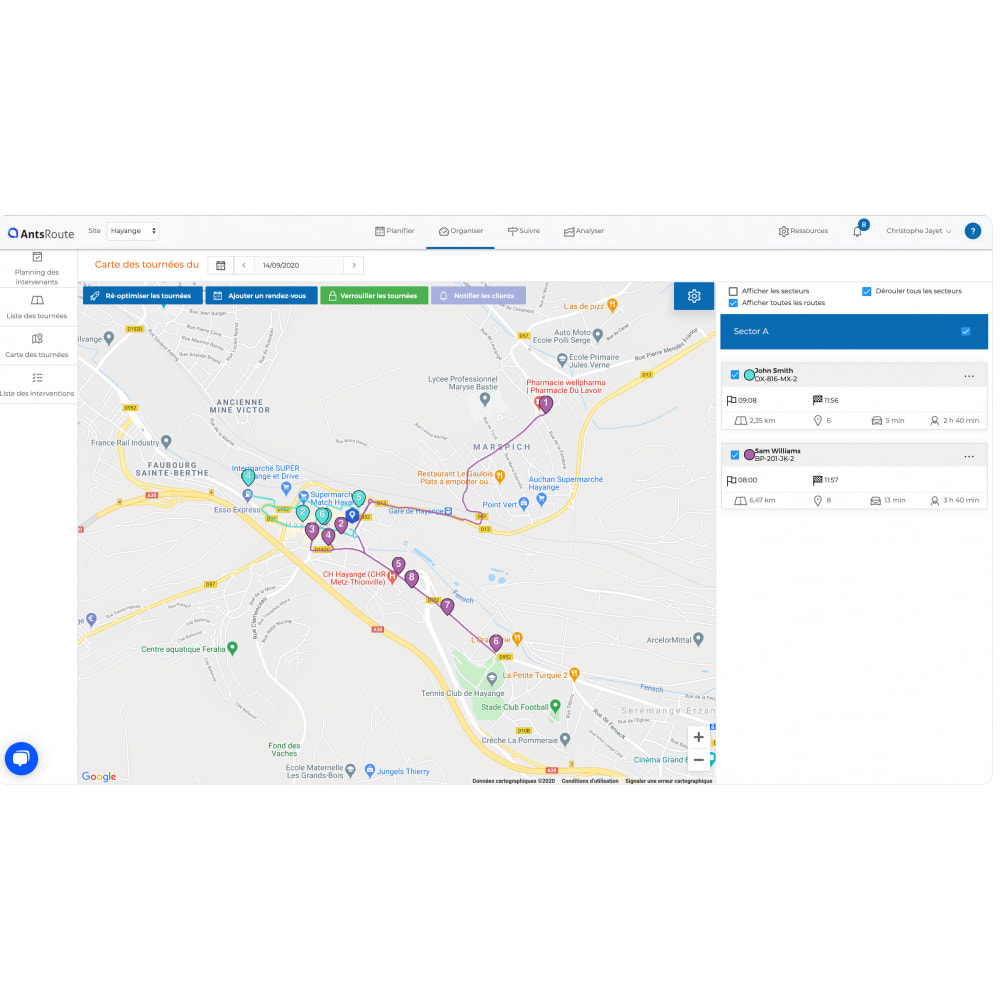 module - Transport & Logistique - AntsRoute - Planification & optimisation des livraisons - 5