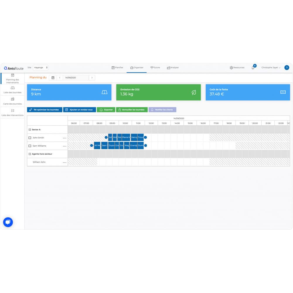 module - Transport & Logistique - AntsRoute - Planification & optimisation des livraisons - 6