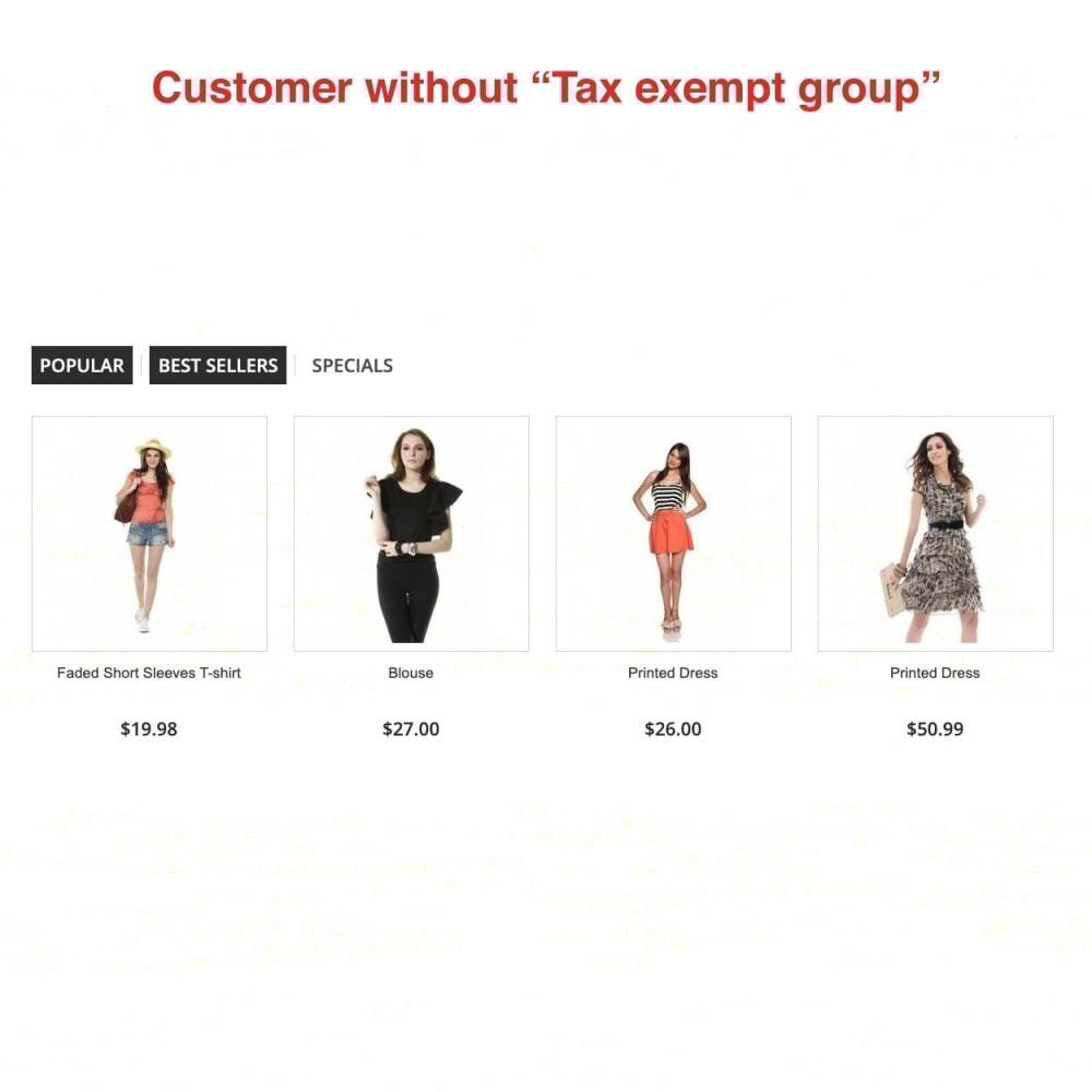 module - Księgowość & Fakturowania - Tax Exempt Group - 1