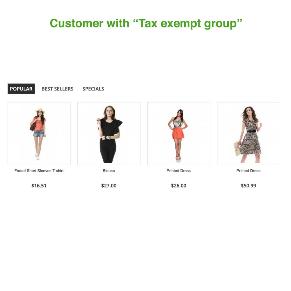 module - Księgowość & Fakturowania - Tax Exempt Group - 2