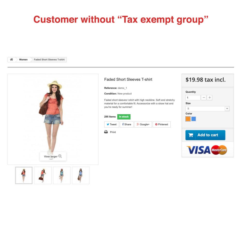 module - Księgowość & Fakturowania - Tax Exempt Group - 3