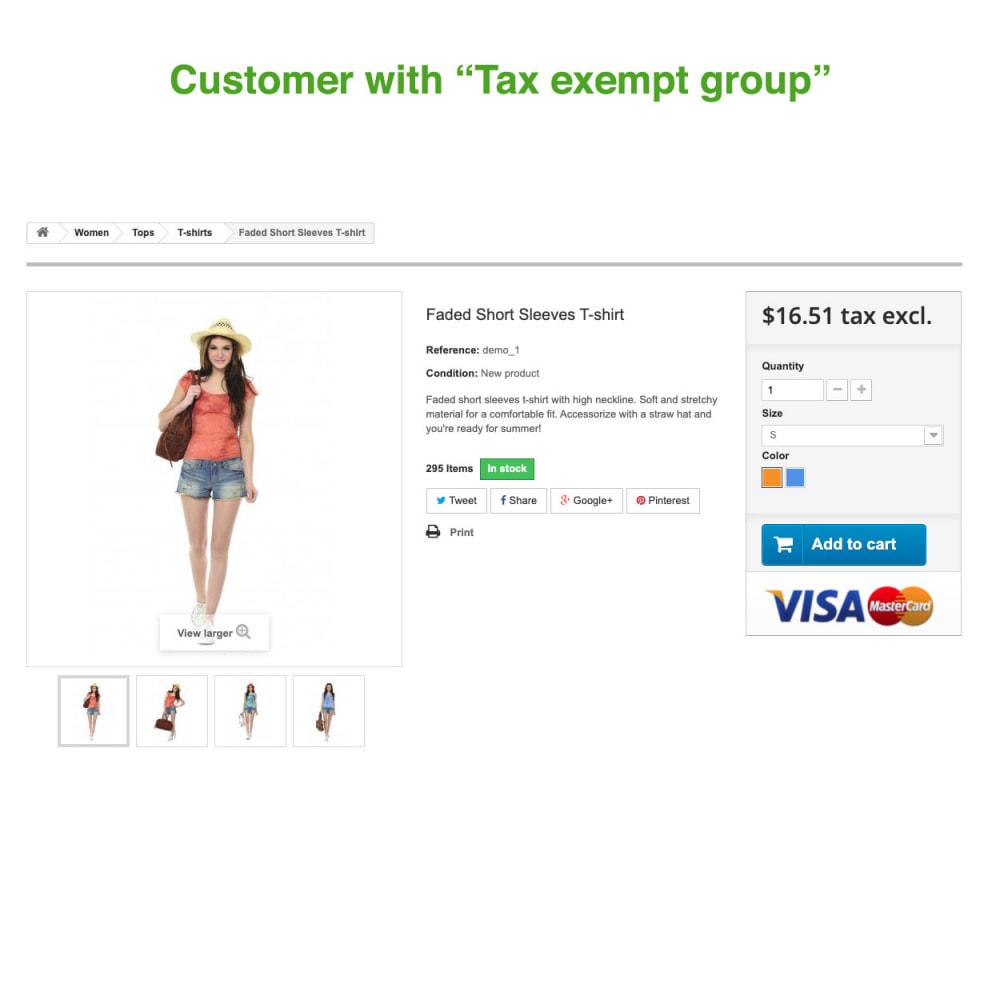 module - Księgowość & Fakturowania - Tax Exempt Group - 4
