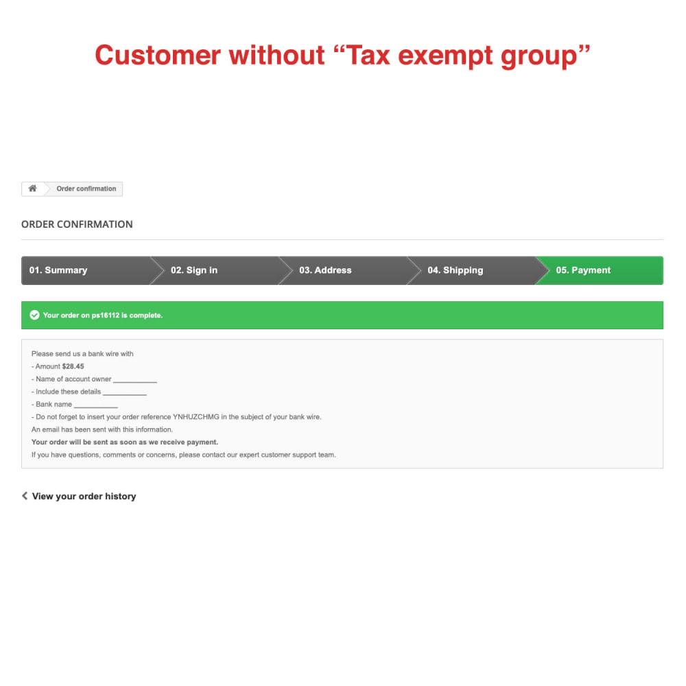module - Księgowość & Fakturowania - Tax Exempt Group - 11