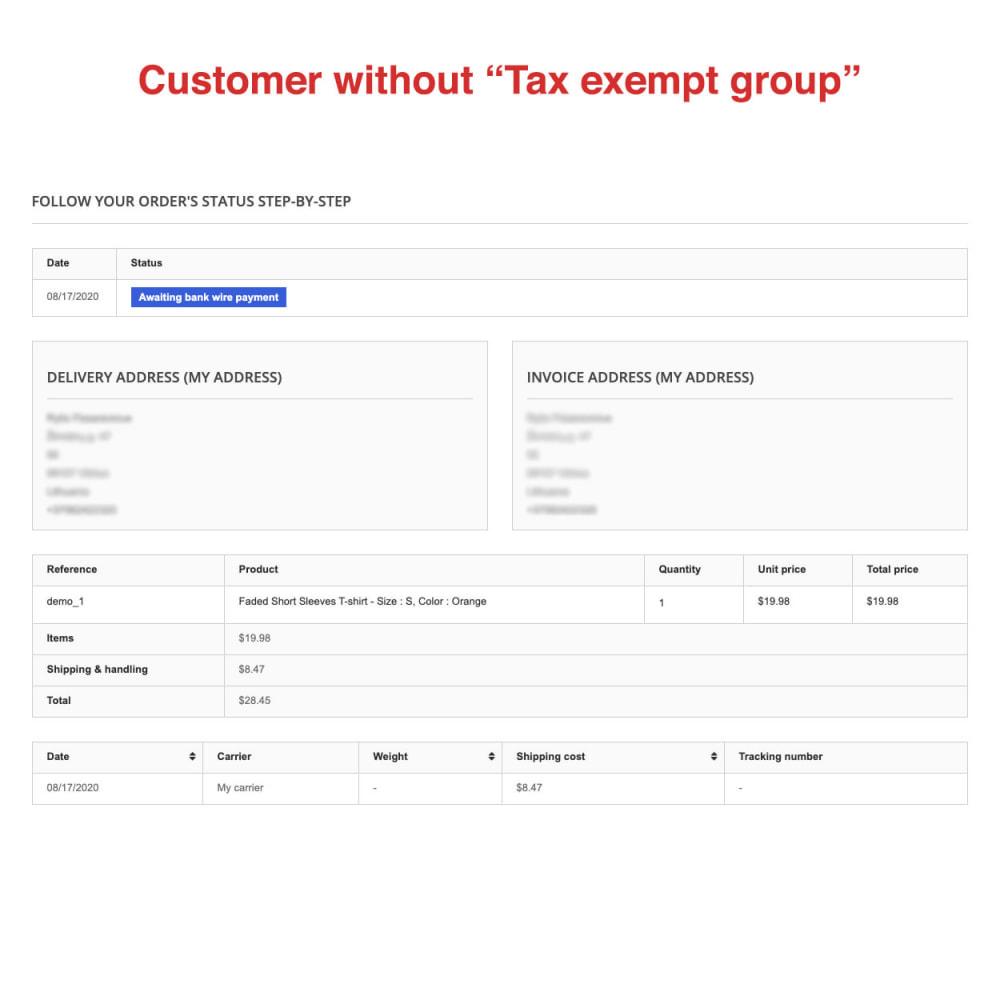 module - Księgowość & Fakturowania - Tax Exempt Group - 13