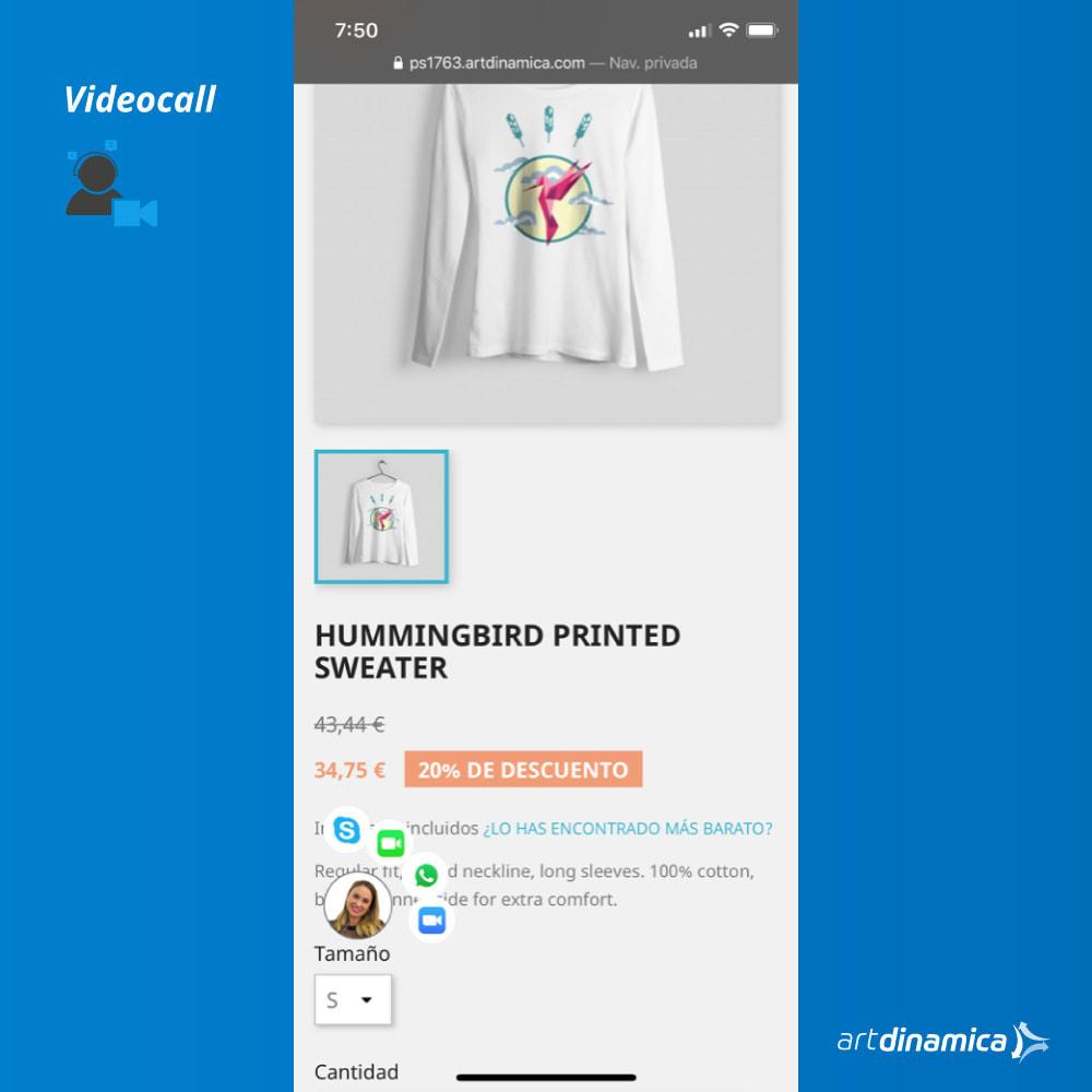 module - Wsparcie & Czat online - Video Customer Support WhatsApp, Facetime, Skype & Zoom - 2