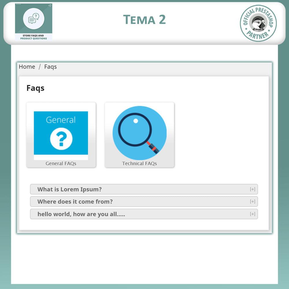 module - ЧАВО (FAQ) - Магазин FAQs + Товар FAQs (Часто задаваемые вопросы) - 4