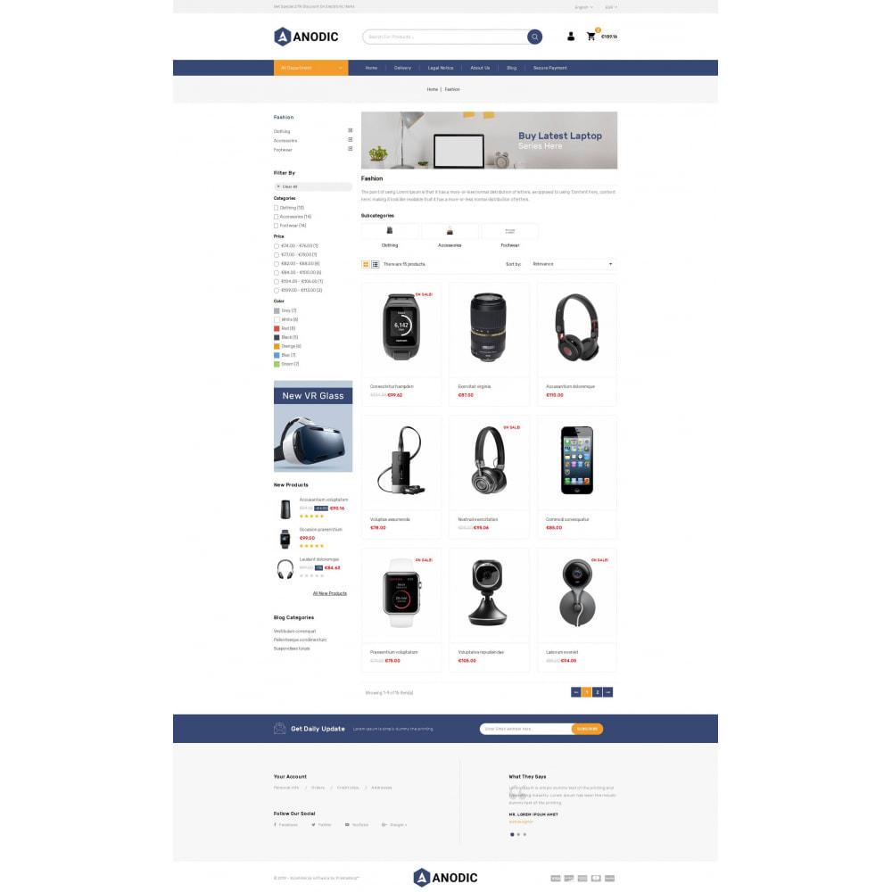 theme - Электроника и компьютеры - Anodic - Electronic Gadget Store - 3