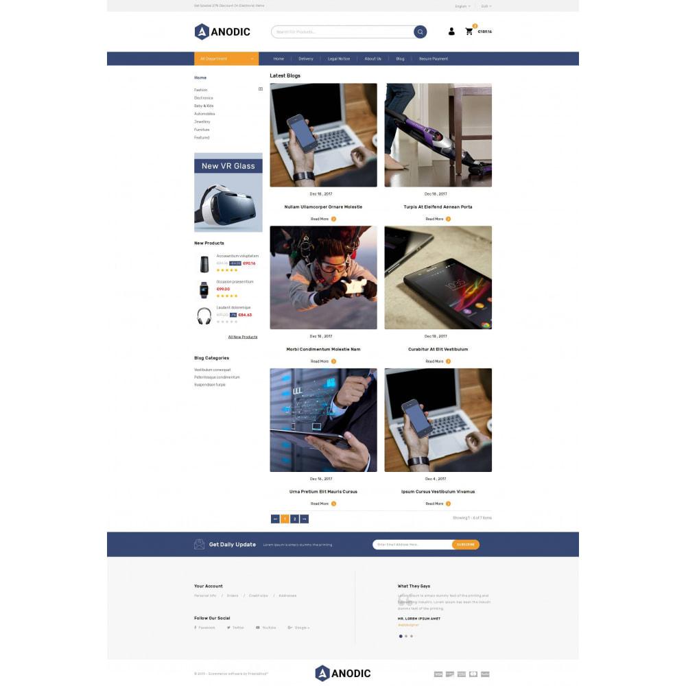 theme - Электроника и компьютеры - Anodic - Electronic Gadget Store - 9