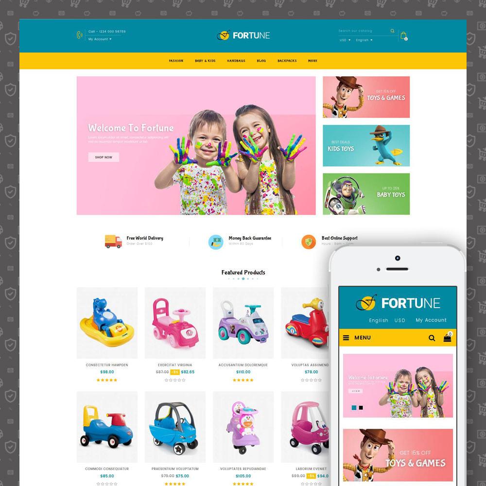 theme - Enfants & Jouets - Fortune - Kids Store - 1