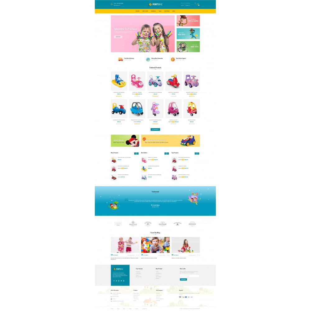 theme - Enfants & Jouets - Fortune - Kids Store - 2