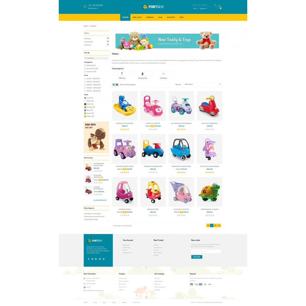 theme - Enfants & Jouets - Fortune - Kids Store - 3