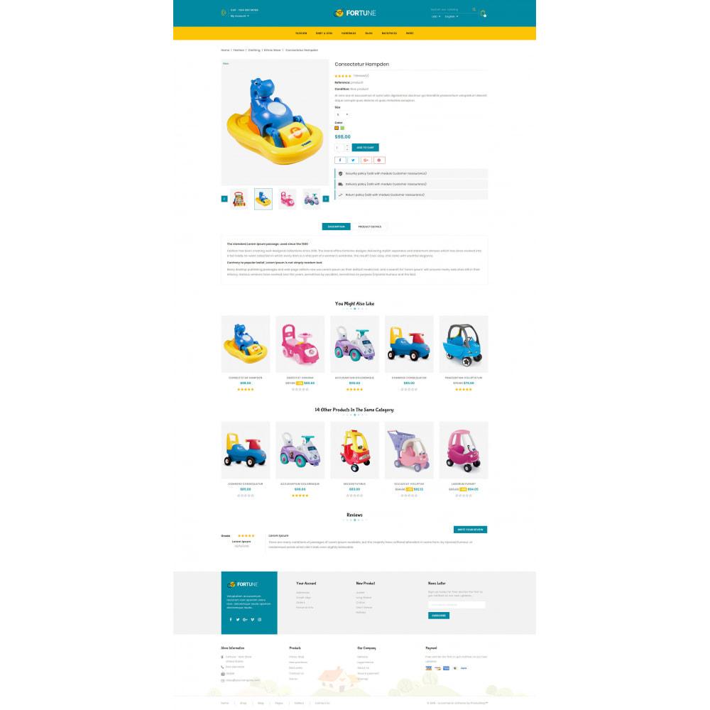 theme - Enfants & Jouets - Fortune - Kids Store - 5