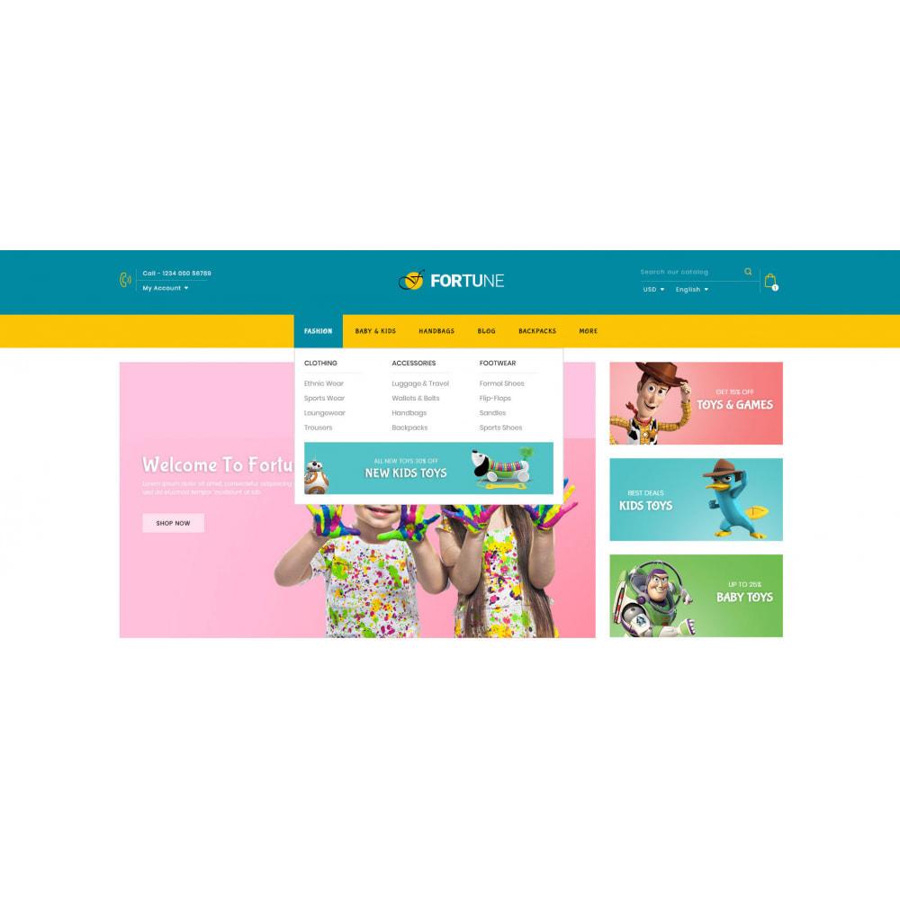 theme - Enfants & Jouets - Fortune - Kids Store - 6