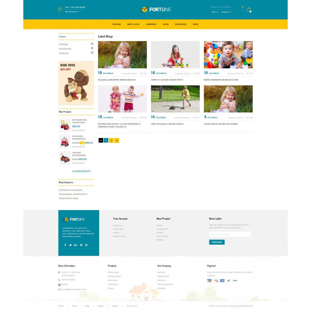 theme - Enfants & Jouets - Fortune - Kids Store - 9