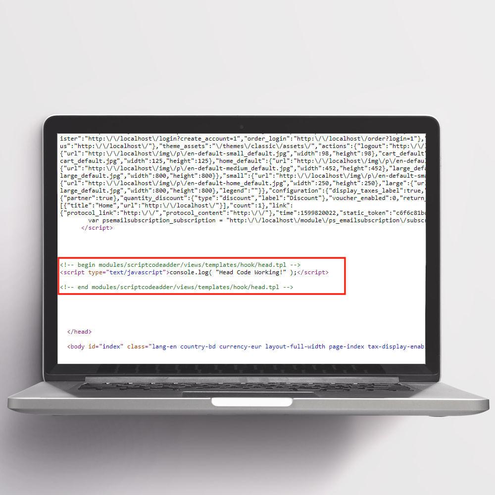module - Registration & Ordering Process - Script Code Adder - 2